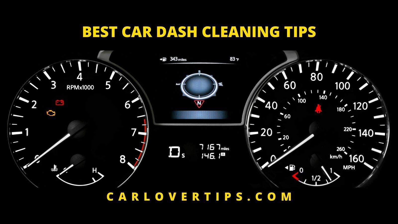 Best Car Dash Cleaner Tips Car Lover Tips CAR