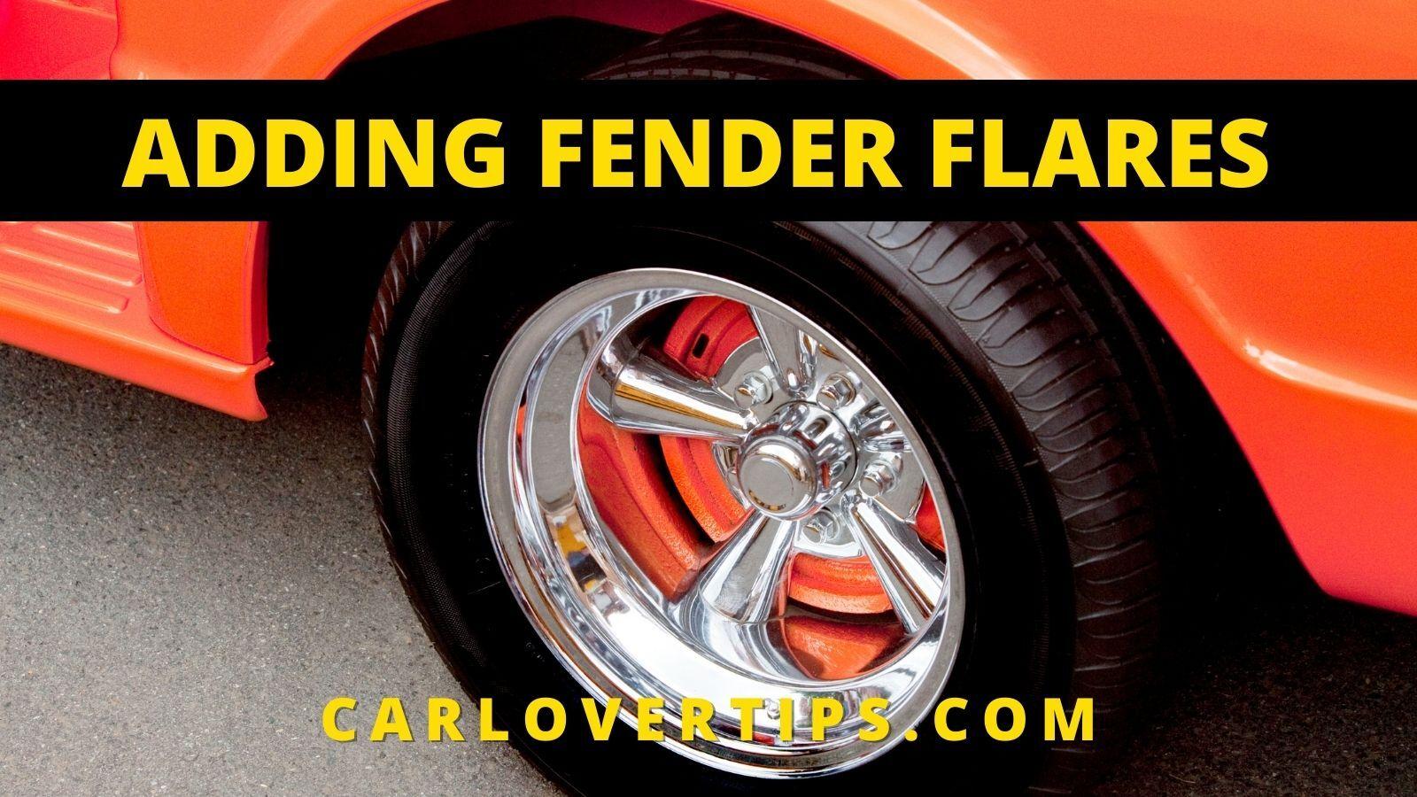 Fender Flares Car Tips Car Lover Tips