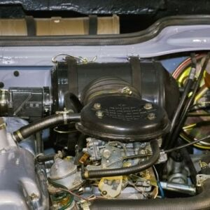 Check for engine oil leaks