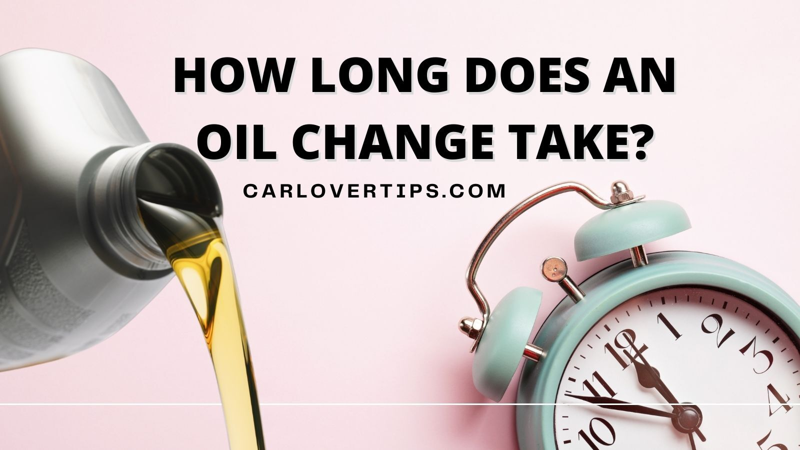 How Long Does An Oil Change Take Car Lover Tips