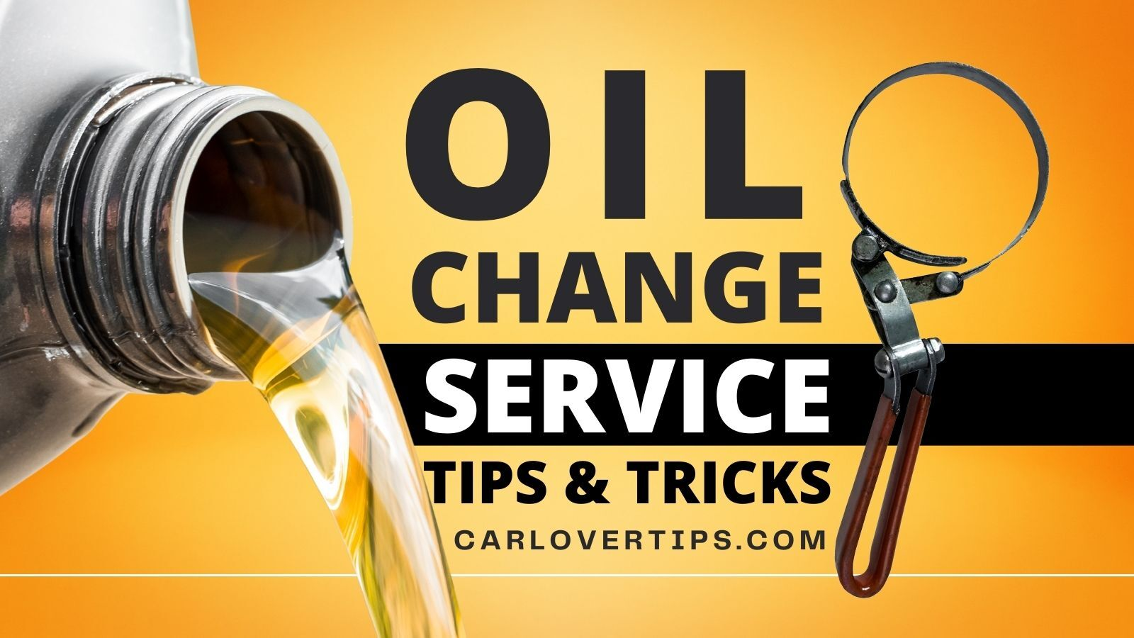 Oil Change Service Tips and Hacks Car Lover Tips