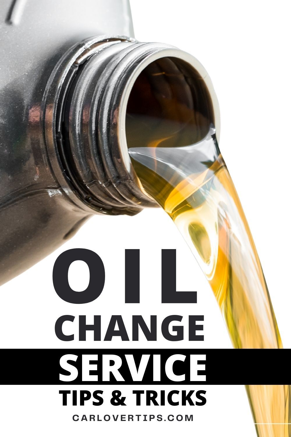 Oil Change Service Tips and Hacks Car Lover Tips Pin