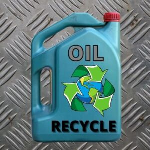 Recycled The Old Used Car Oil Car Lover Tips