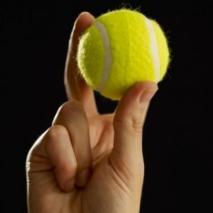 Use A Tennis Ball To Save Your Garage