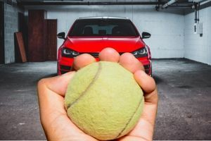 Save Your Garage With a Tennis Ball